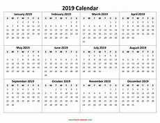 2020 Calendar Free Download Yearly Calendar 2019 Free Download And Print