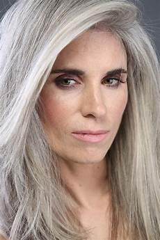 hair gray silver beautiful on gray hair