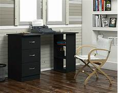 modern study desk computer table with high gloss drawer