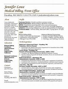 Medical Biller Resume Samples Lowe Resume Medical Billing Resume Career