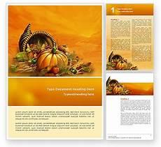Thanksgiving Newsletter Template Free Thanksgiving Day Word Template 02819 Poweredtemplate Com