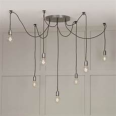 How To Hang A Pendant Light From Ceiling 7 Light Cluster Ceiling Pendant Hang Lights Using