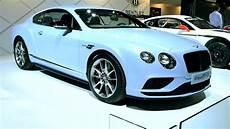 Bentley Continental Light Amsterdam The Netherlands April 16 Light Blue New