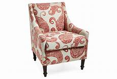 paisley accent chair accent chair paisley club from one