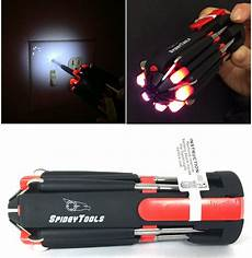 Spidey Light Spidey Multi Tools 8 In1 Soft Touch Screwdriver W Led