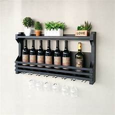 60 100cm wrought iron wine rack wine glass rack wall