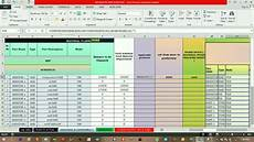 Bom List Format Raw Bom Material Planning And Cover Day S Sheet Rm Run