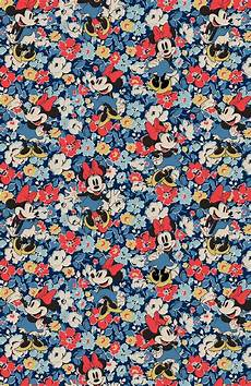 disney pattern iphone wallpaper minnie mews ditsy and minnie linen sprig patterns