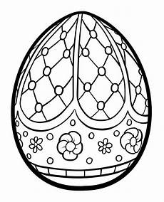 Coloring Eggs Easter Egg Coloring Pages Squid Army