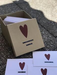 year of dates in a box diy geschenk freund