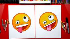 Easy Emoji Art How To Draw The Crazy Face Emoji Art For Kids Hub