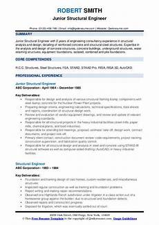 structural engineer resume sample structural engineer resume samples qwikresume