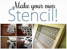 Make Your Own Presentation Learn How To Make A Diy Stencil From Scratch Reality