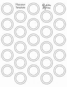 Printable French Macaron Template How To Make French Macarons Tips And Tricks For Getting
