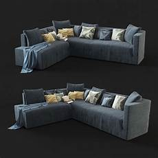Morden Sofa 3d Image by Fabric 3d Modern Sofa Cgtrader