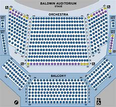 Usher Hall Seating Chart Accessibility For Baldwin Auditorium