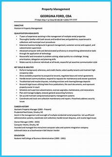 Property Description Sample Writing A Great Assistant Property Manager Resume