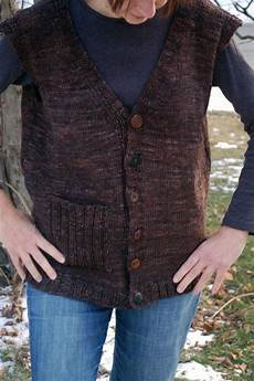 easy to knit vest knitted vest invested vest knitting