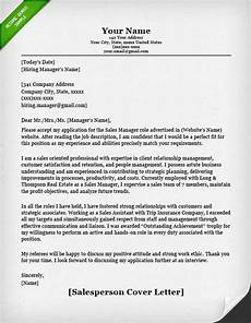 Cover Letter For Inside Sales Position Salesperson Amp Marketing Cover Letters Resume Genius