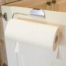 the cabinet door paper towel holder for kitchen or