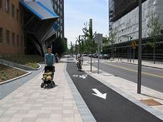 Cycle Track Design Separated Bicycle Facility Cdd City Of Cambridge