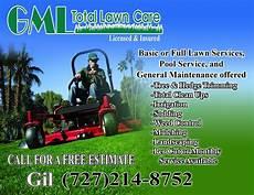 Lawn Maintenance Flyers Lawn Care Gml Total Lawn Care Flyer Lawn Care Business