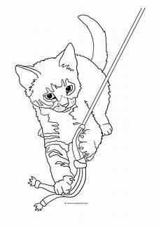 Malvorlage Katze Getigert Cat Coloring Pages