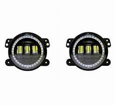Quake Led Lights Quake Led Qte905 Tempest Halo Rgb 4 Quot Led Fog Lights For 07