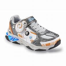 Disney Character Light Up Shoes Disney Star Wars Boy S Bb 8 Gray Orange Blue Light Up Sneaker
