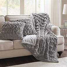 throw pillow and blanket set