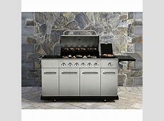 Kenmore 6 Burner Stainless Steel Gas Grill with Front