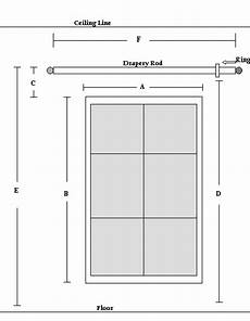 Window Measurements How To Measure Your Windows For Drapes