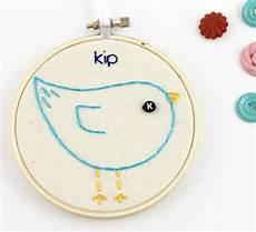 lova revolutionary custom baby bird embroidery