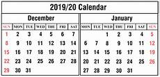 Calendar January December 2020 Free December And January 2019 2020 Printable Calendar