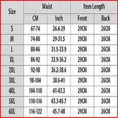 Waist Trainer Size Chart What Size Waist Trainer Should