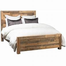 angora reclaimed wood king platform bed frame