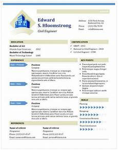 Resume Template Ms Word 11 Free Resume Templates You Can Customize In Microsoft Word