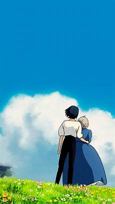 ghibli wallpaper iphone studio ghibli gifs howl s moving castle phone wallpapers