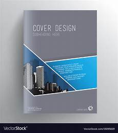 Free Book Cover Design Templates Download Book Cover Design Template With Skyscrapers Vector Image