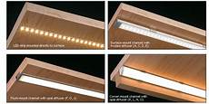 Led Channels And Diffusers For Tape Lighting Diffusers For Lightstrips Which One Reduces The Least