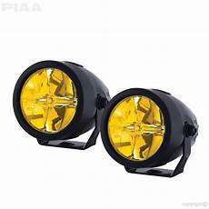 Piaa Driving Lights Piaa Lp270 Ion Yellow 2 75 Quot Led Driving Light Kit 22 02772