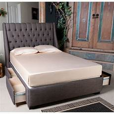1159 cambridge upholstered storage bed by seahawk