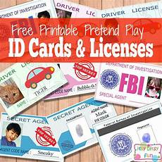 Credit Card Template For Kids Free Printable Licenses And Id Cards For Kids