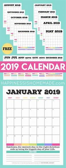 Free Calander 2019 Free Printable Calendar Printable Monthly Calendar