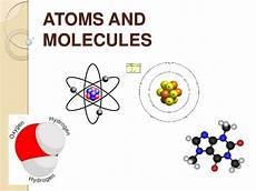 Molecule Vs Atom Atoms And Molecules
