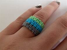 macrame ring how to macrame rings make