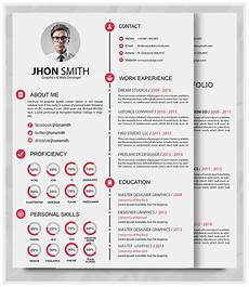 Portfolio And Resumes Best Professional Resume Templates Psd Ai Word Free
