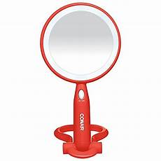 Conair 3x 1x Magnification Mirror With Led Lighting Conair 174 Illuminations 3x 1x Magnification Led Mirror In Orange