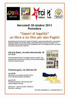 libreria roma pontedera saperi di legalit 224 un libro e un per don puglisi