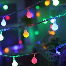 Starry String Lights Walmart Cotonie Ball String Lights Starry Christmas Lights 10led